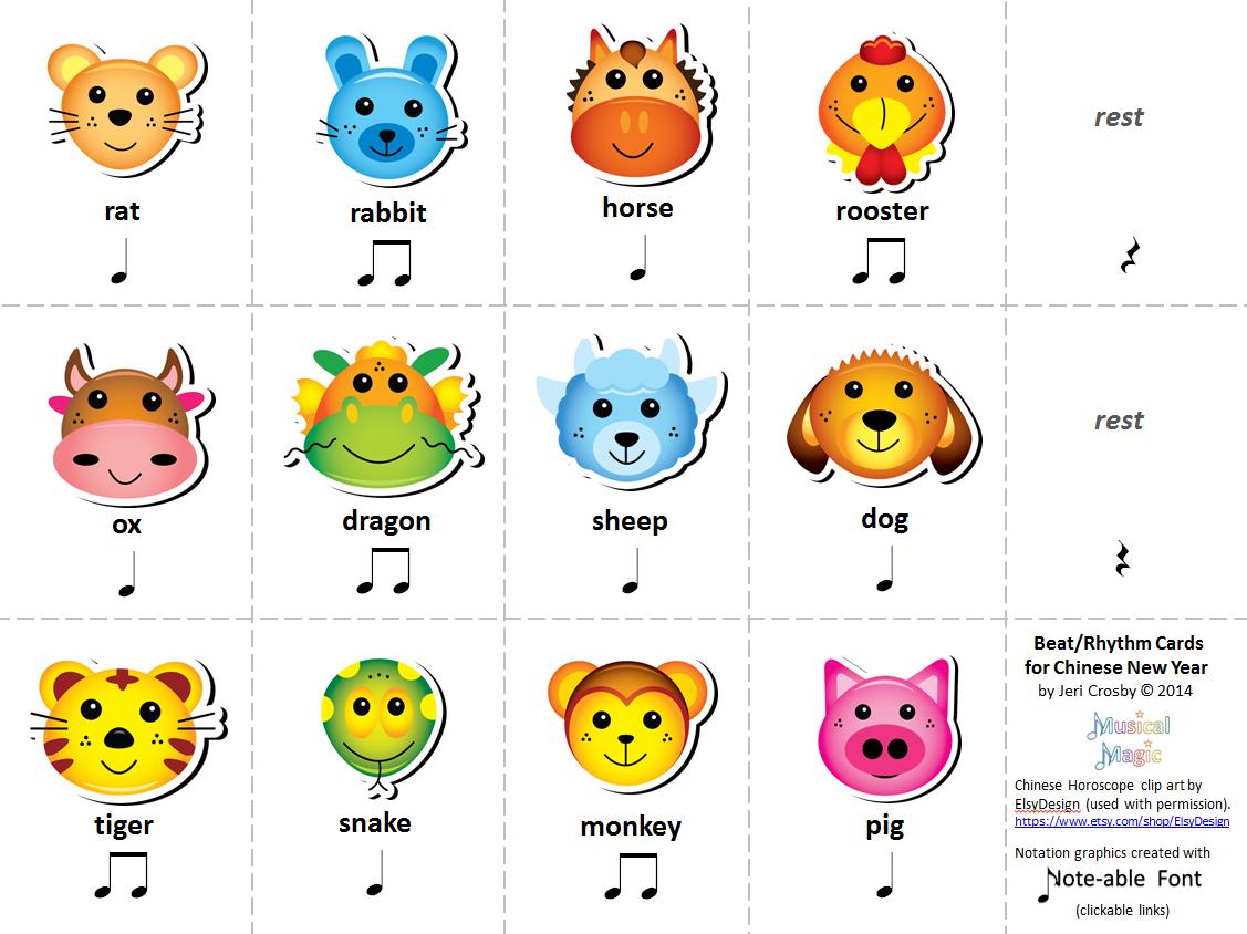 Mymusicalmagic Music Literacy Activities For Chinese New