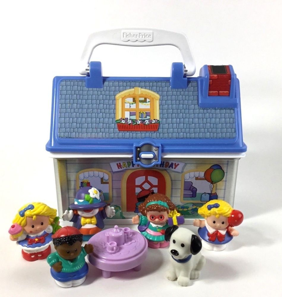 Details about Fisher Price Little People On The Go Birthday Party ...
