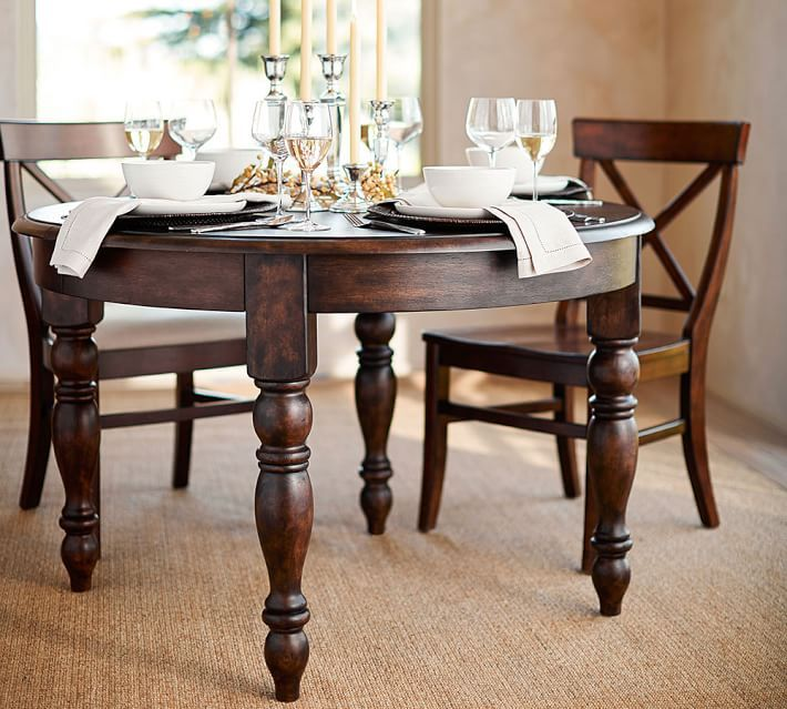Evelyn Extending Round Dining Table Mothers Pinterest Round