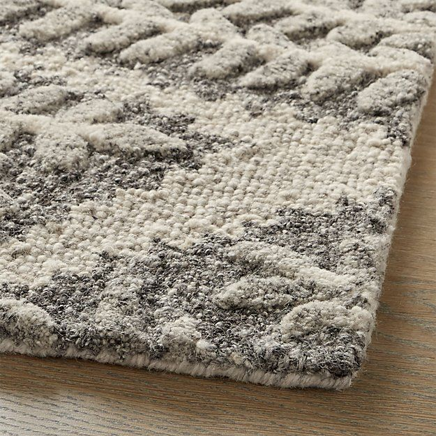 Eden Hand Tufted Wool Rug 5 X8 With Images Rugs Wool Rug Rug Pattern