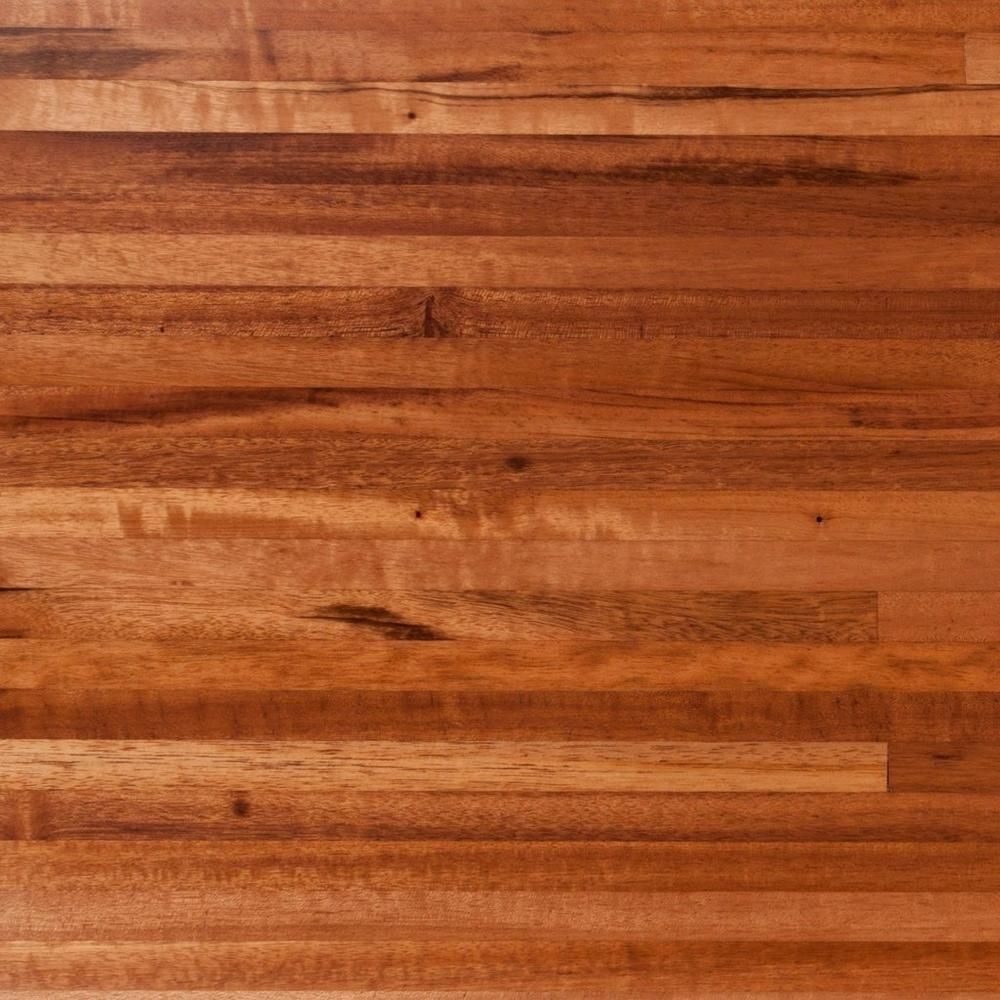 Brazilian Tigerwood Butcher Block Countertop 12ft 144in X 25in 100121540 Floor And Decor Butcher Block Countertops Butcher Block Countertops