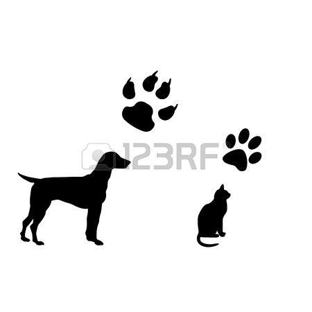 Tatuajes De Gatos Y Perros Plantillas Buscar Con Google Gatos