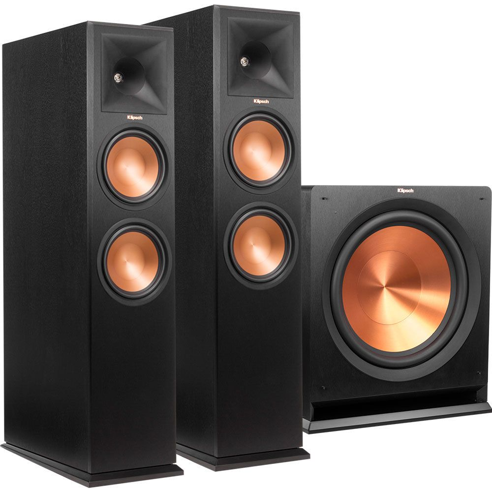 standing klipsch speakers product floor reference floors floorstanding big black r