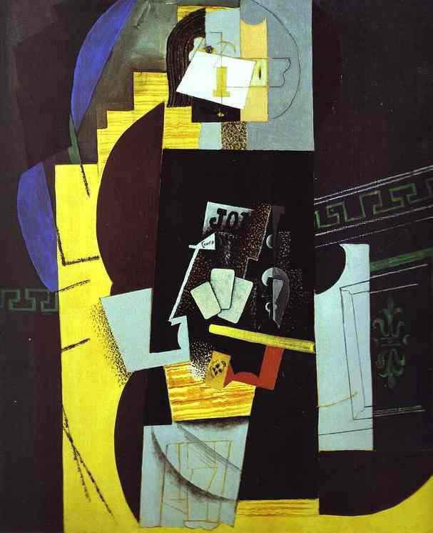 The Greatest Artworks of Picasso / Pablo-Picasso-Card-Player-1913-1914.jpg