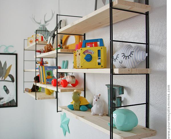 les tag res de f lix id es pour la maison pinterest kids rooms room and bedrooms. Black Bedroom Furniture Sets. Home Design Ideas
