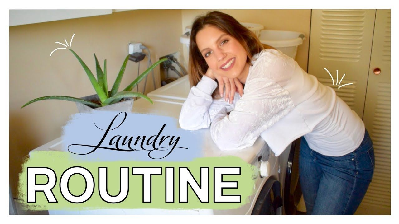 Laundry For Beginners My Laundry Routine Products Tips