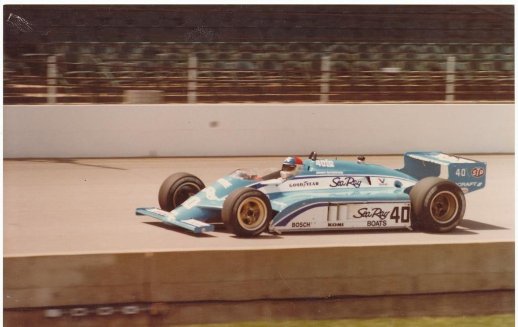 Johnny Rutherford Indy 500 1983 Wildcat