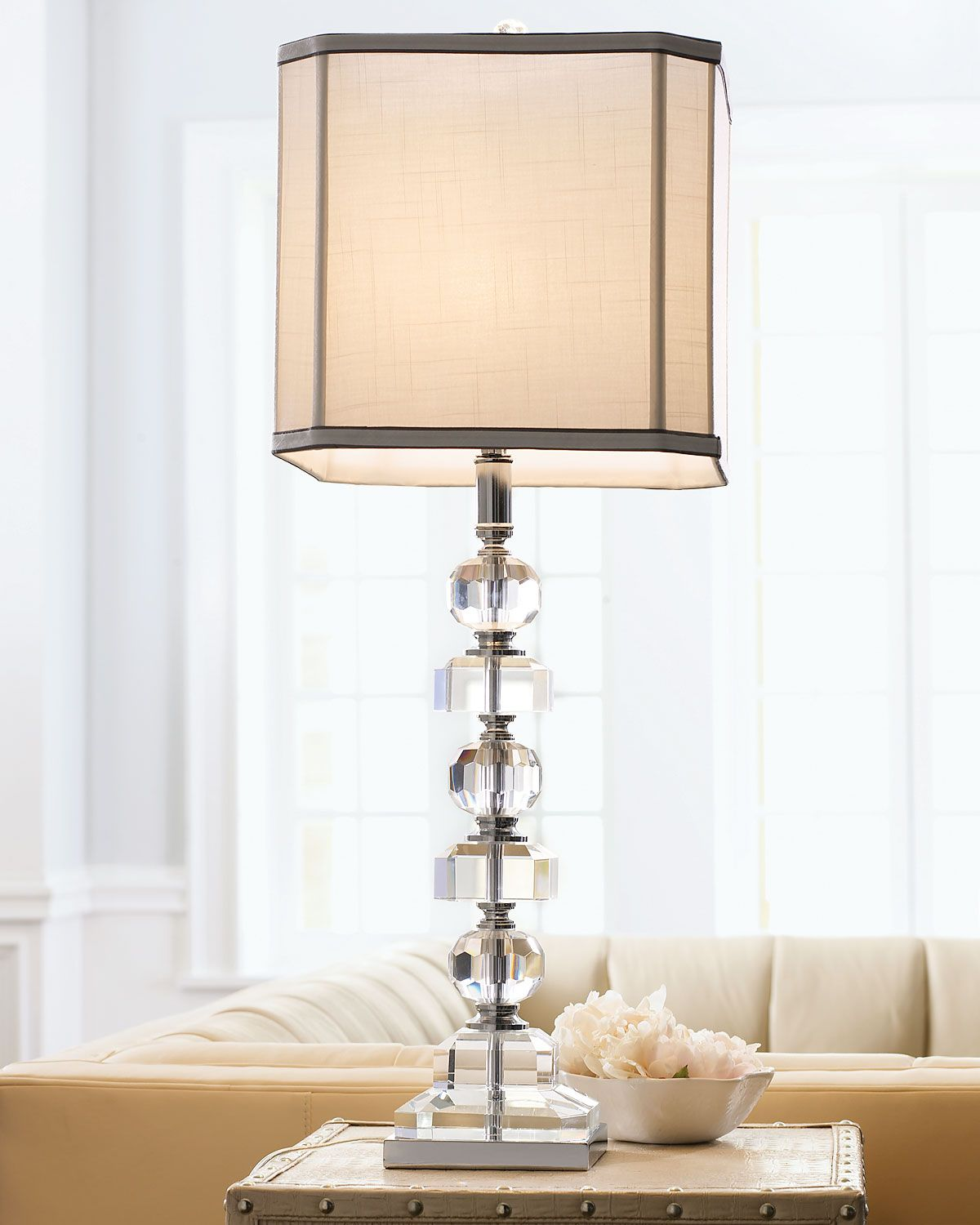 Stacked crystals table lamp products pinterest products stacked crystals table lamp aloadofball Images