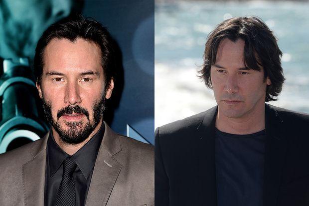 Con o senza barba la doppia versione dei divi di hollywood keanu reeves prima e dopo - Altezza divi di hollywood ...