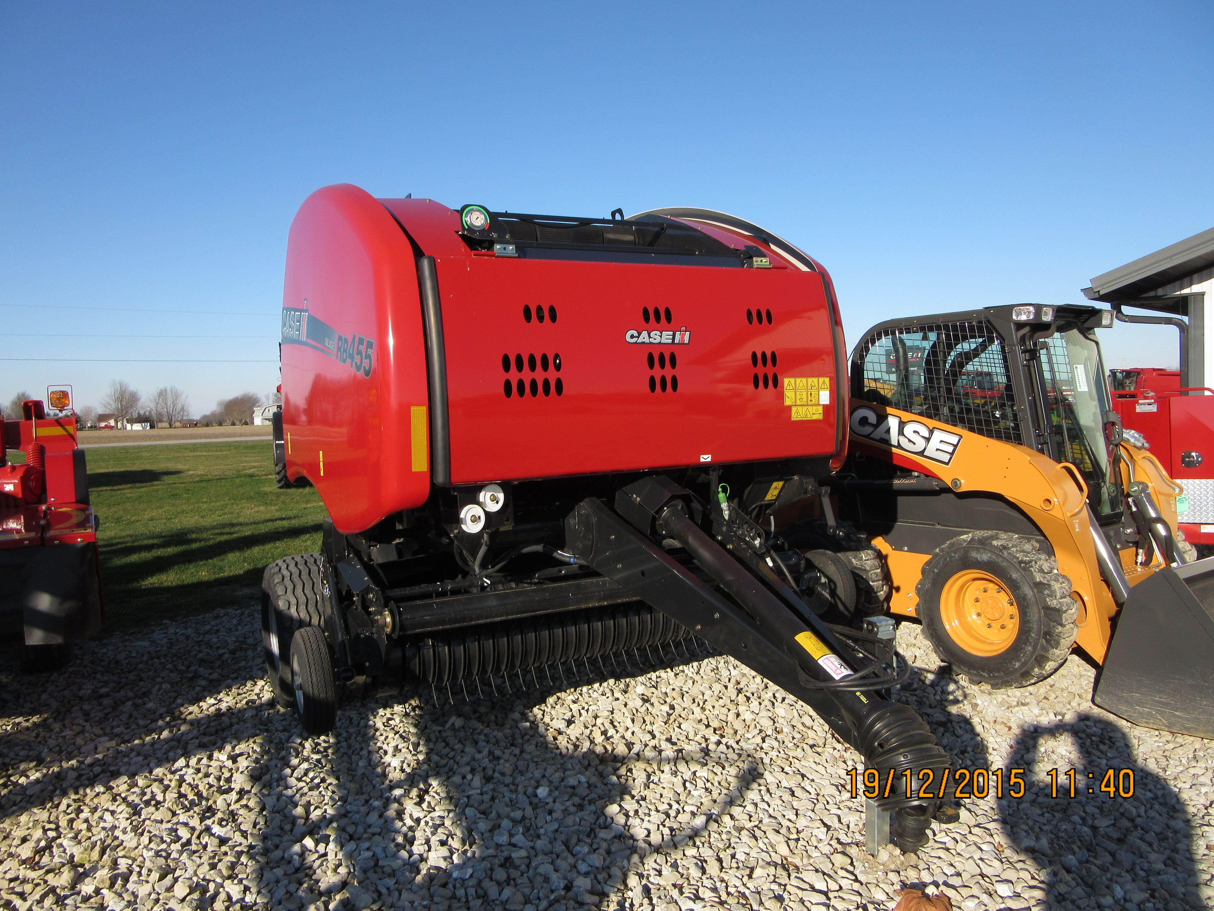 CaseiH RB455 round baler   CaseIH equipment   Tractors, Outdoor