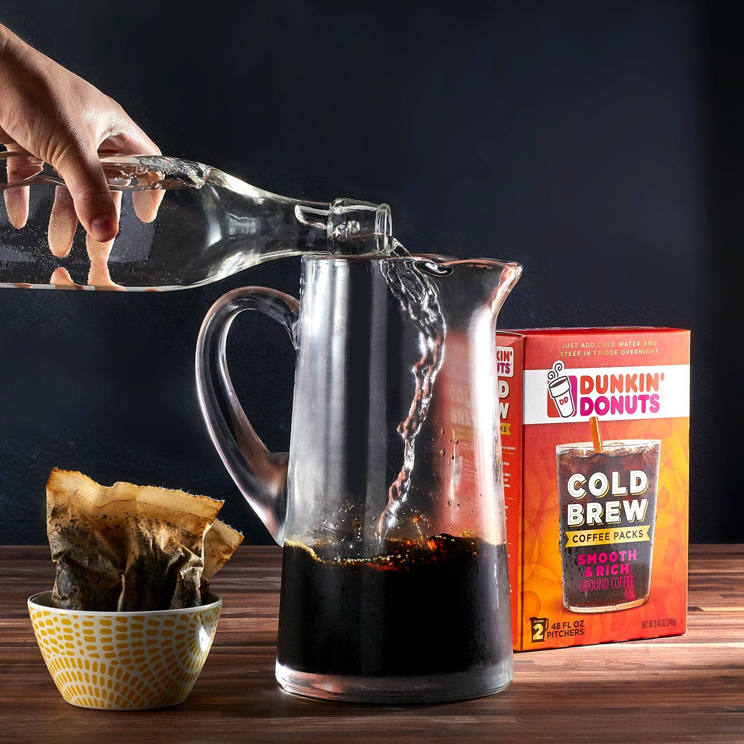 Cold brew coffee is best if served as iced coffee or