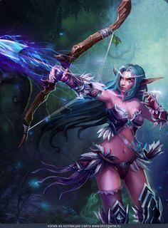 World Of Warcraft Starcraft All Images Warcraft Art World Of Warcraft Night Elf
