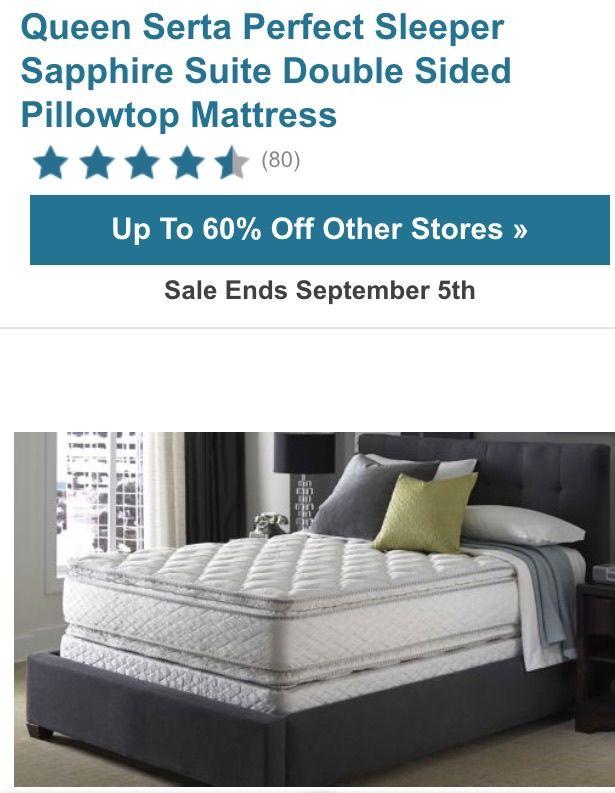 Serta double sided pillow top mattress Sweet Dreams Pinterest