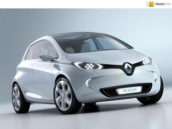 Renault S Really Cool Looking New Electric Car