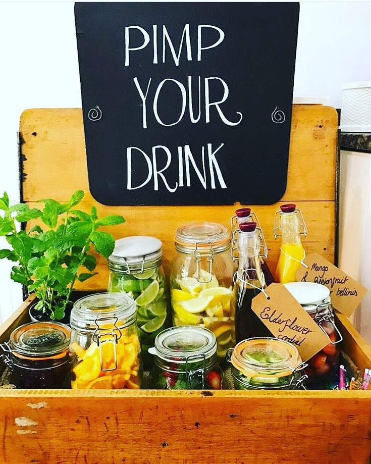 Check out my Pimp Your Drink school desk at my god sister's 30th birthday la...