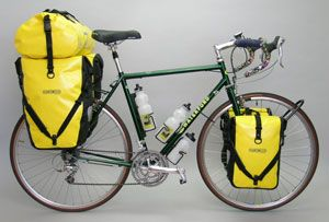 ortlieb panniers for cross country bike tour. Black Bedroom Furniture Sets. Home Design Ideas