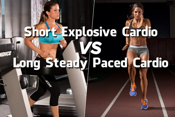 Short Explosive Cardio vs Long Steady Paced Cardio! | Gym Flow 100