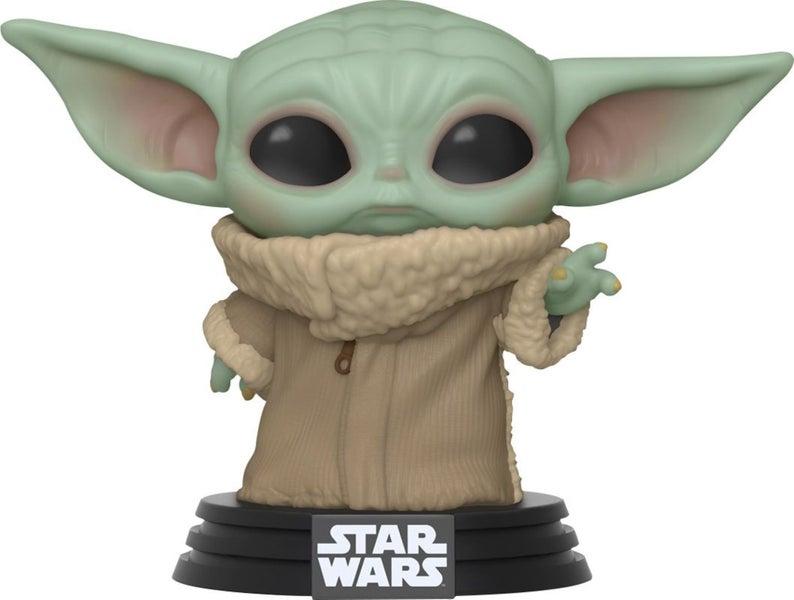 Pop Funko Star Wars The Mandalorian Baby Yoda The Child Etsy In 2021 Funko Pop Star Wars Funko Pop Vinyl Figures