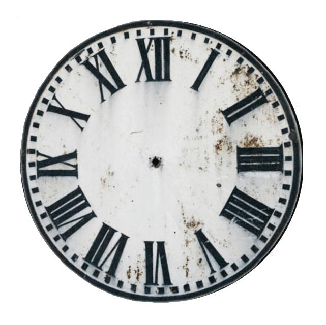 Clock face printable with birds – Clock Face Template