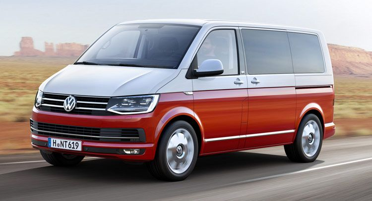 This Is Vw S All New T6 Transporter Van Volkswagen Transporter Volkswagen Multivan Volkswagen Multivan T6