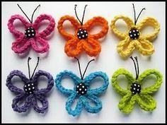Crochet Loopy Butterfly