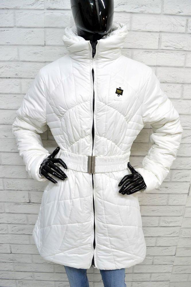 new concept ea780 5485d Piumino Bianco Donna BLAUER Taglia Size XL Jacket Giacca ...