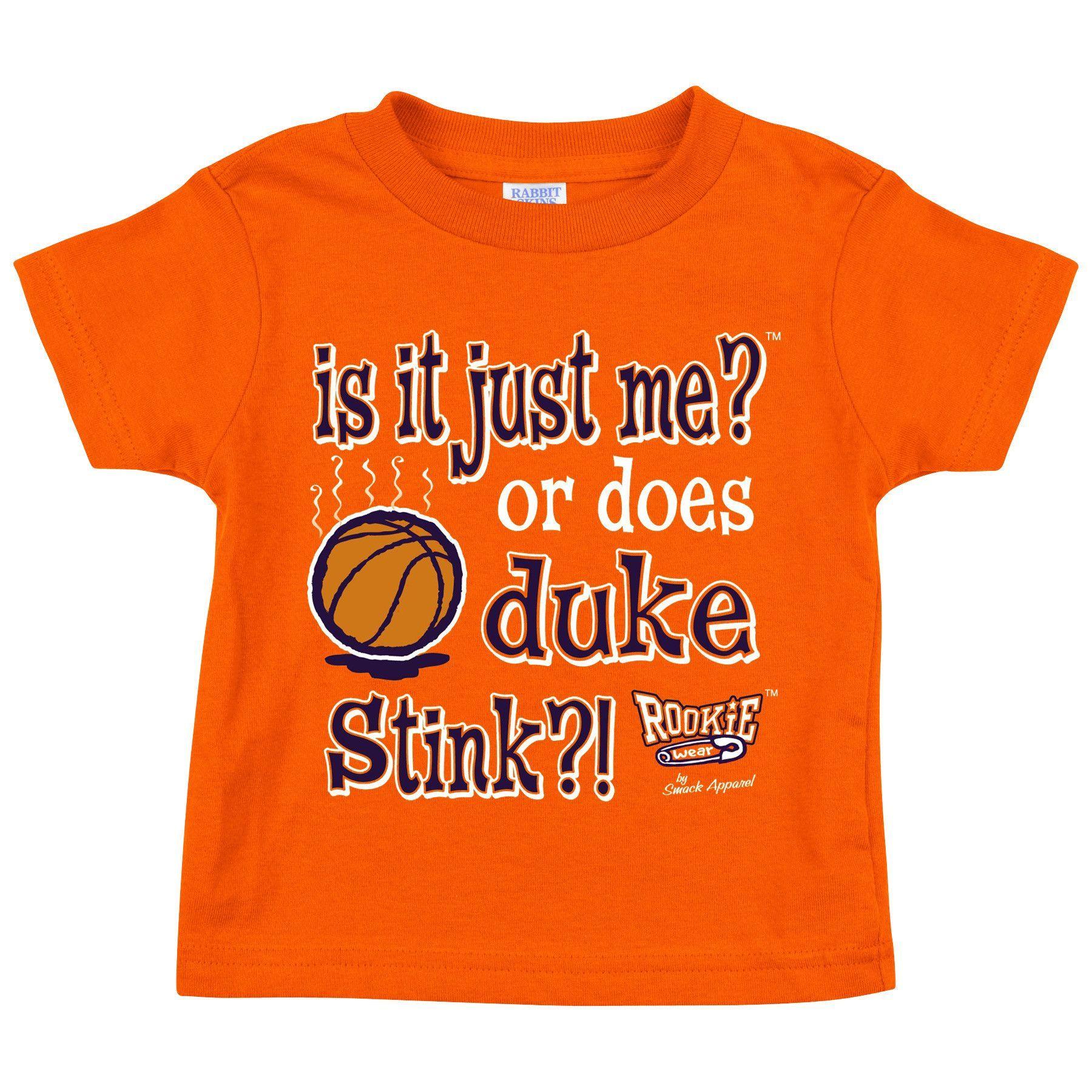 Syracuse Orange Fans Is It Just Me Anti Duke Toddler Tee 2T 4T