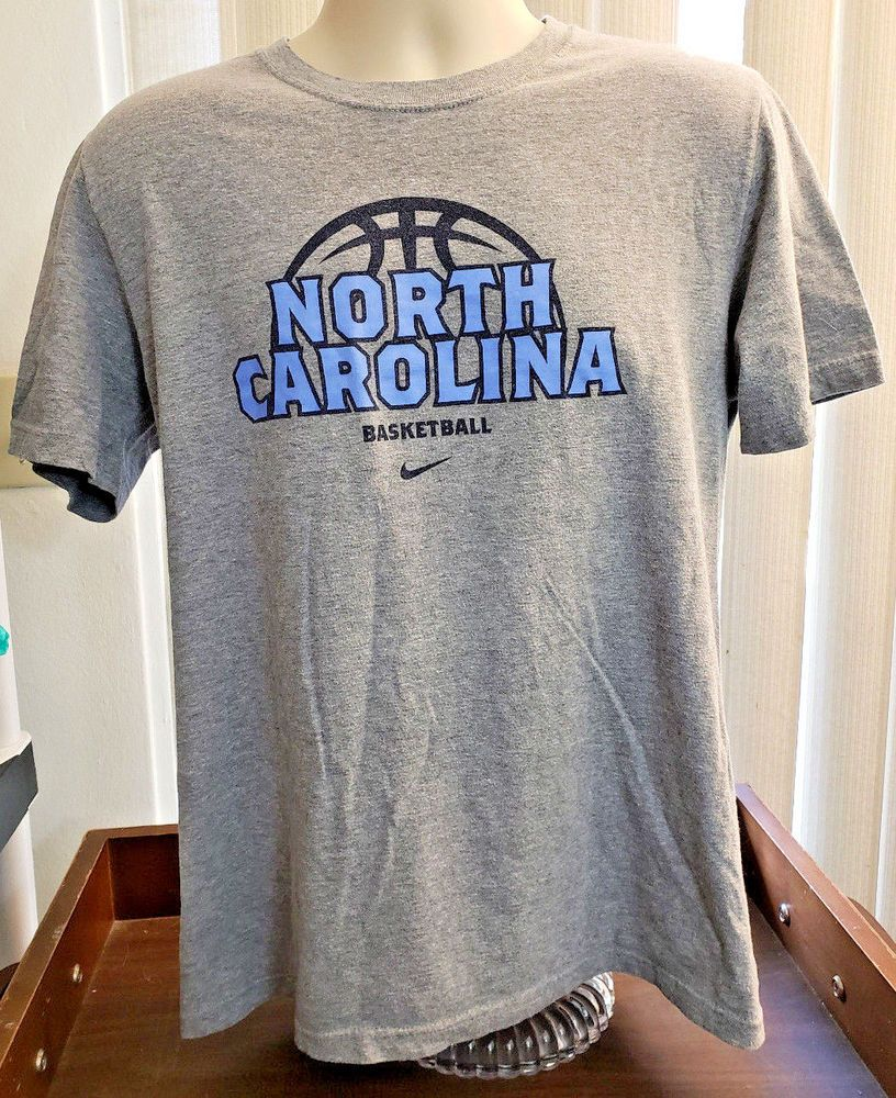 ea2a5126c7520 Nike T-Shirt North Carolina UNC Tar Heels NCAA Basketball Men's M ...