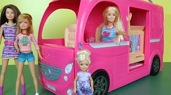 Chelsea Breaks Her Arm at the Park - Playmobil Playset and Barbie