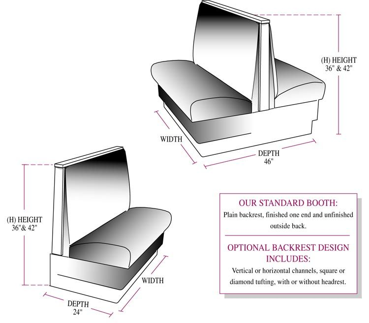 Dining Booths For Home Restaurant Booth From Jays Furniture