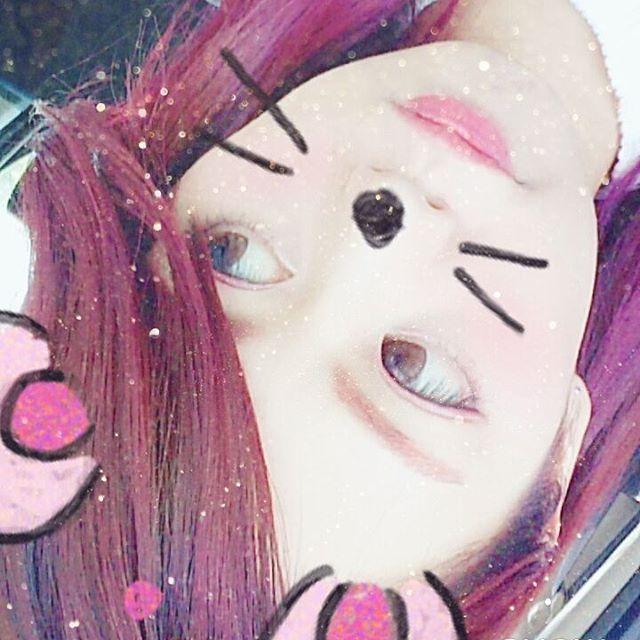 WEBSTA @ szh_0226 - 髪色変えた😂🎵#きっとすぐ色落ち  #ホットホットピンク  #マニパニ