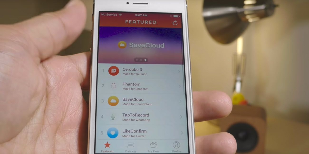 Extensify lets you use tweaks for popular thirdparty iOS