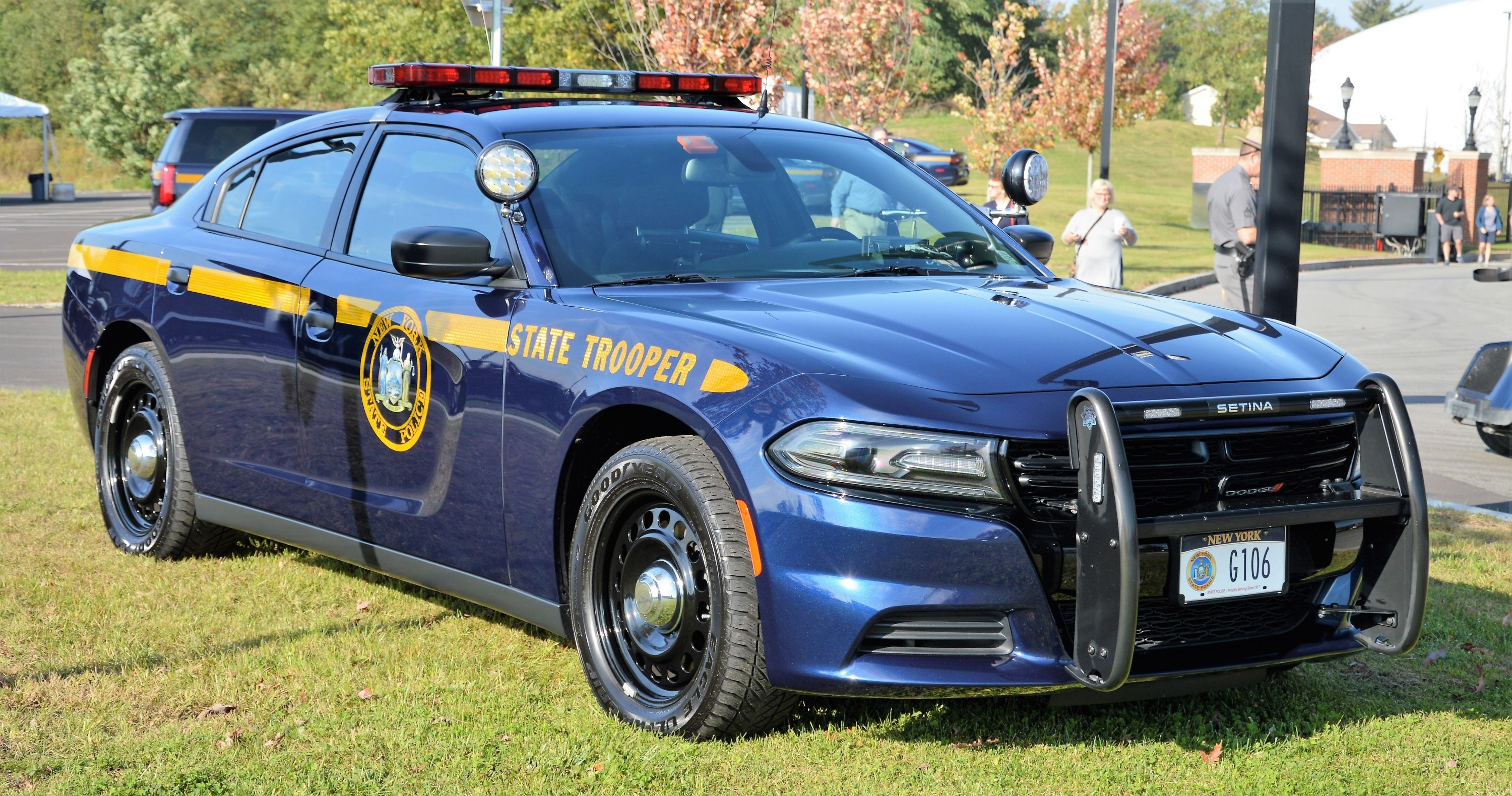 New York New York State Police Dodge Charger Sedan New York State Trooper Police Cars State Police