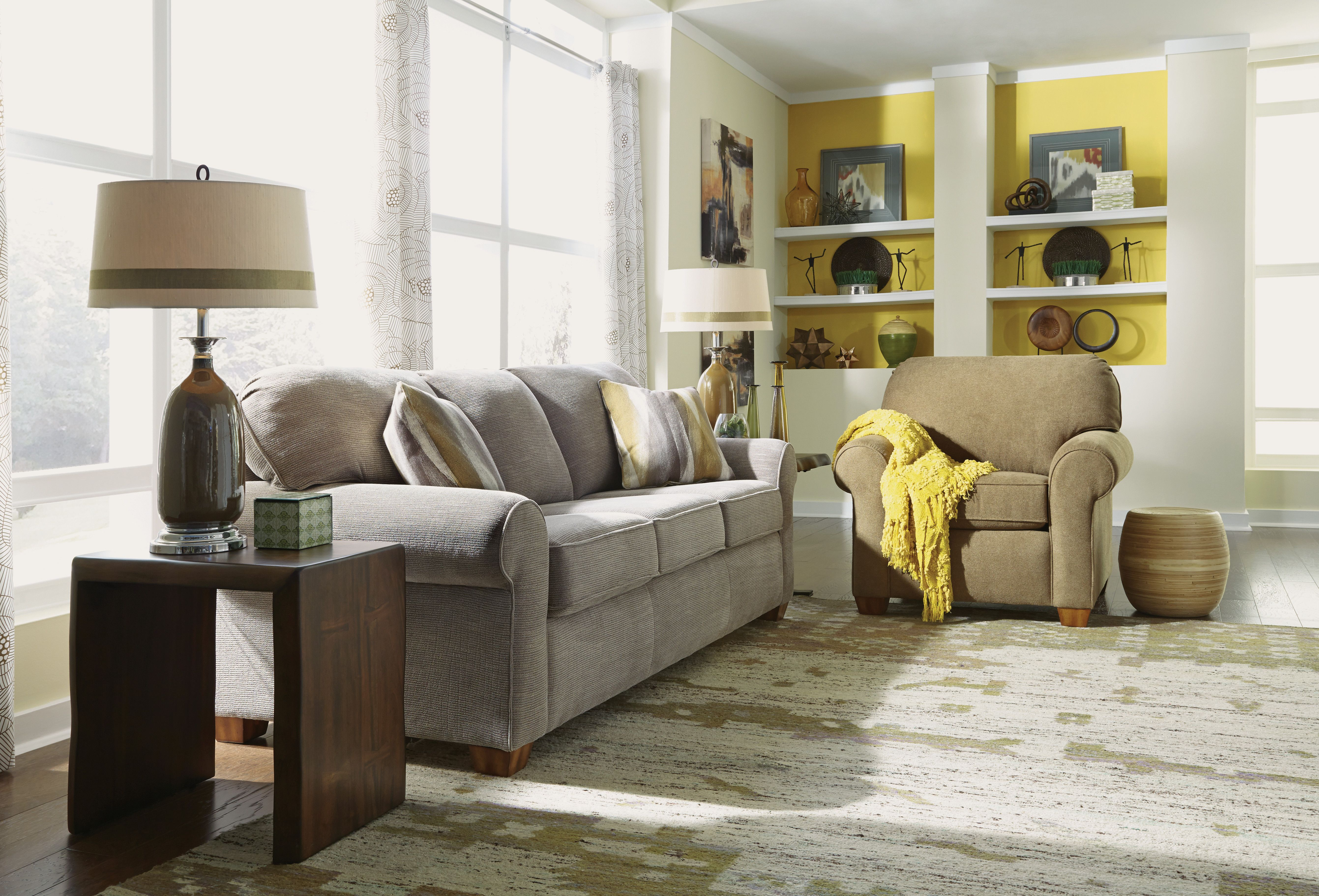 A bit of yellow accent adds warm and happy tones to any ...