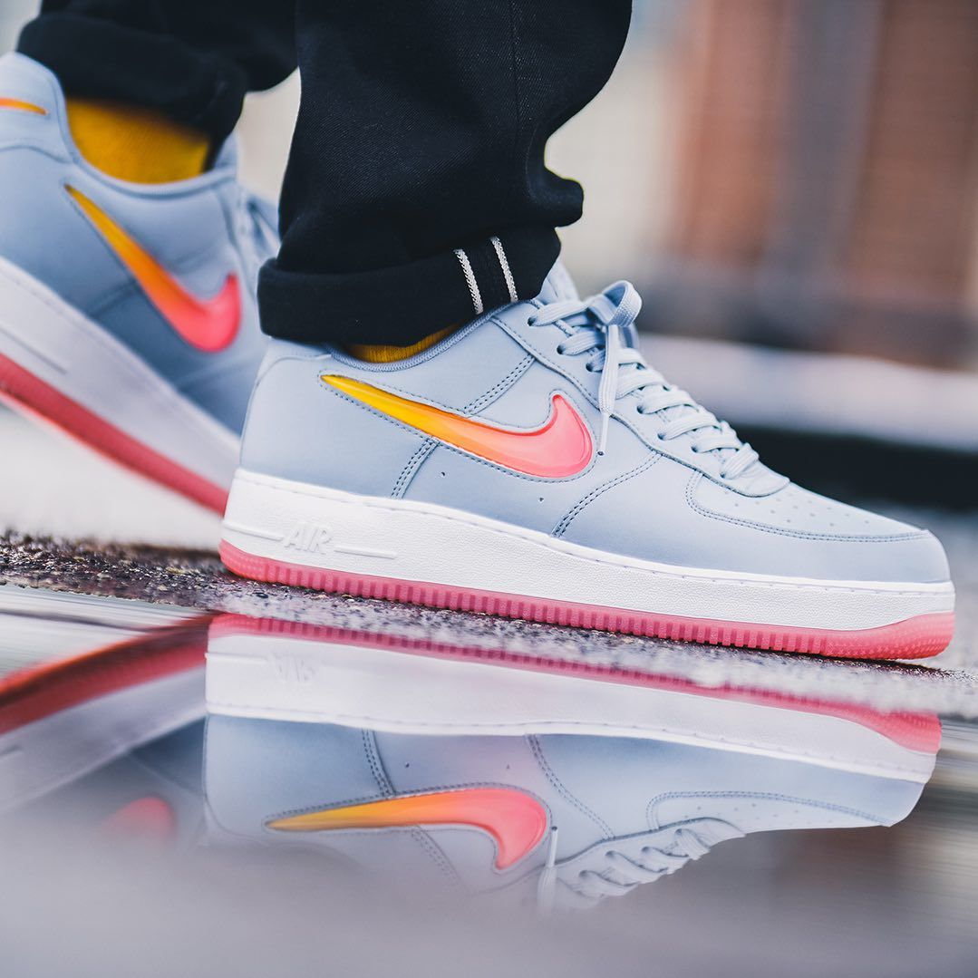 premium selection 302c3 54e13 Nike Air Force 1 07 PRM 2 Grey   Multicolor