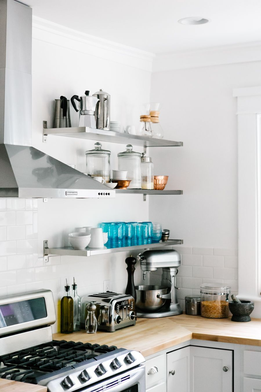 How To Design A Real Life Pinterest Kitchen A Couple Cooks Small Kitchen Design Apartment Kitchen Inspiration Design Small Apartment Kitchen