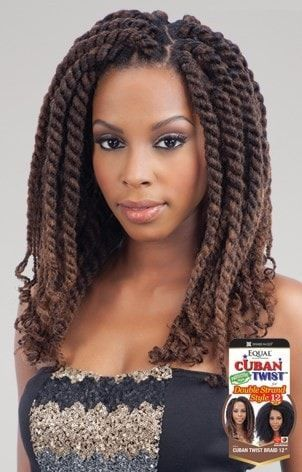 Freetress Equal Synthetic Hair Braids Double Strand Style