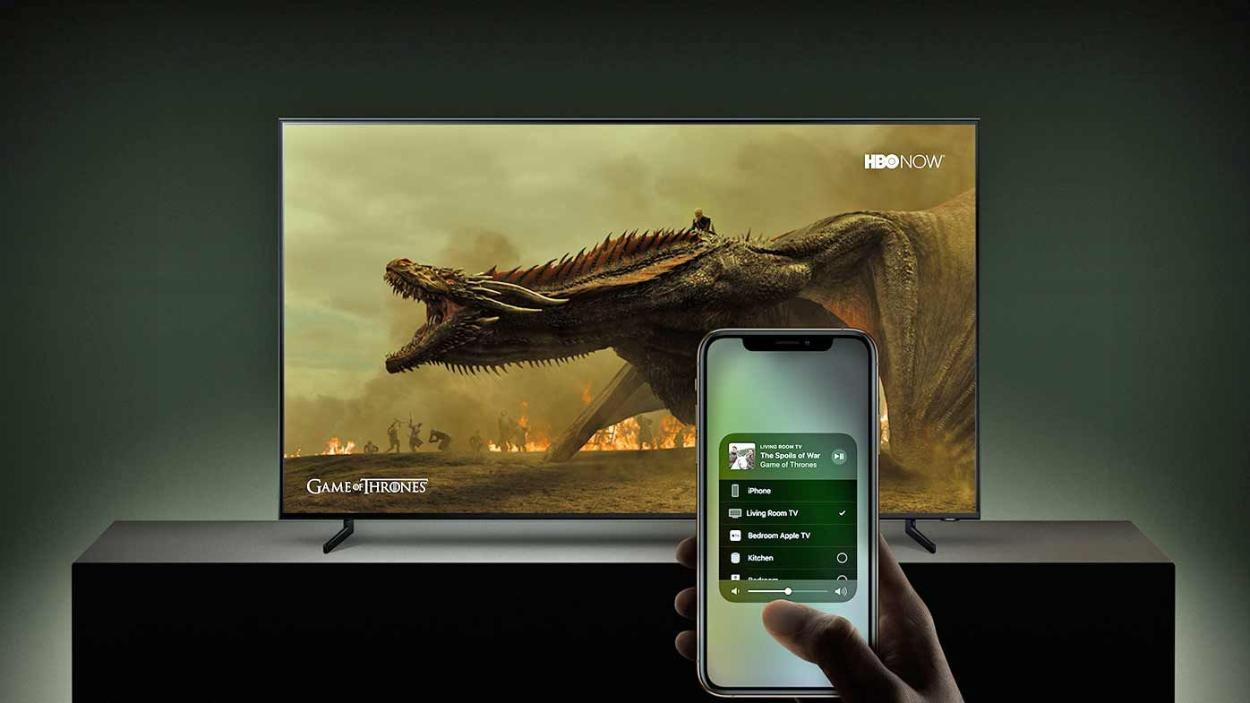 Samsung announce Smart TVs will soon have AirPlay 2 and