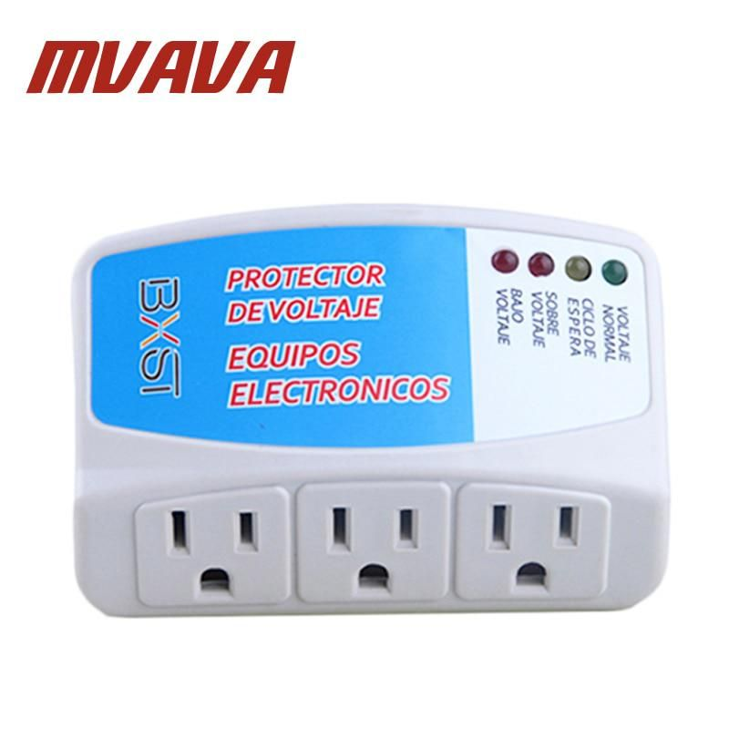 Mvava Pc Series Power Protector Us Standard Socket White Home Appliance Surge Us 16 11 White Houses Home Appliances Surge Protector