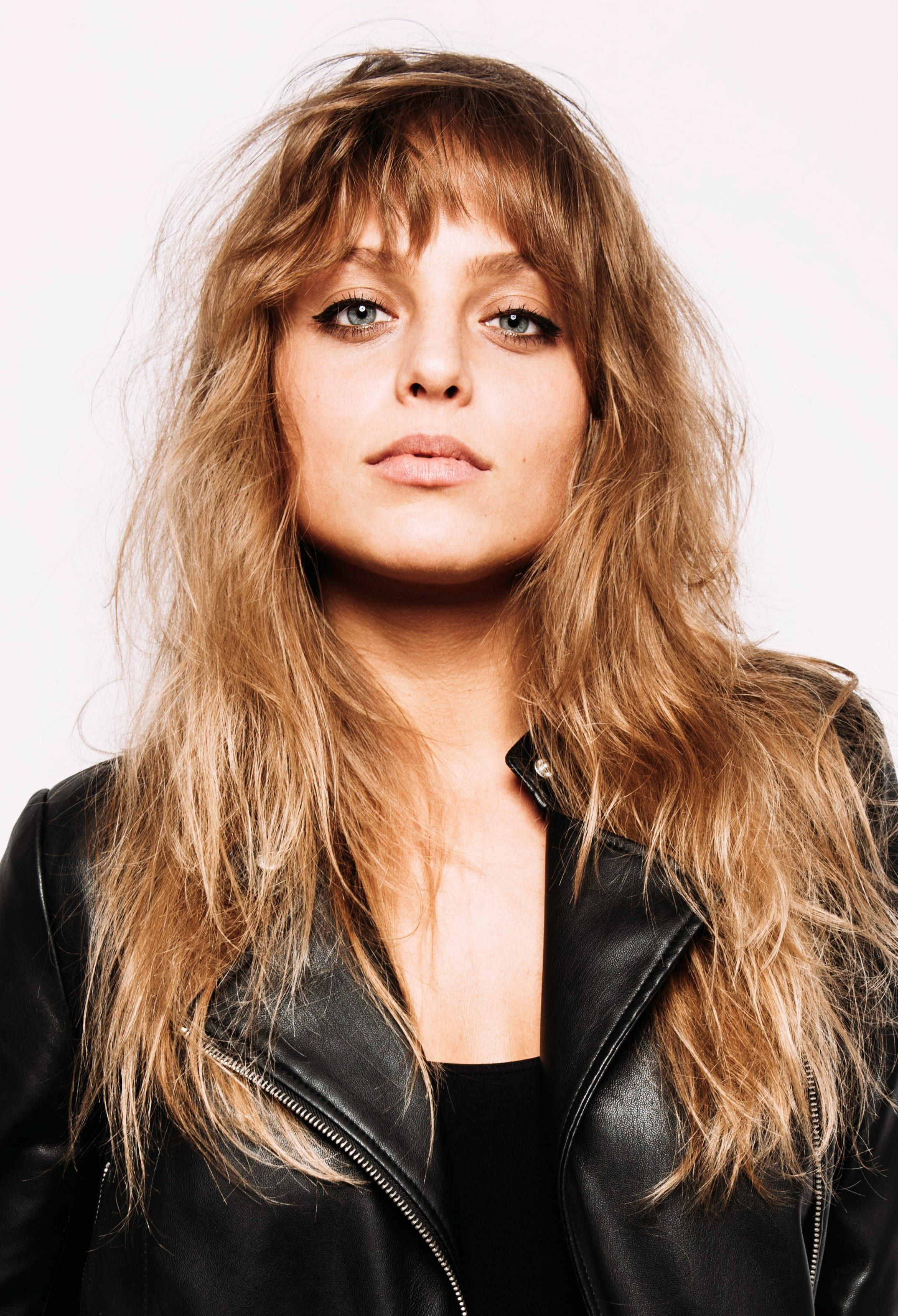 Messy Choppy Bangs with Ombre - Bangs pair perfectly with ombre on long  locks. Balance out your choppy bangs with loos…   Choppy bangs, Messy bangs,  Womens haircuts