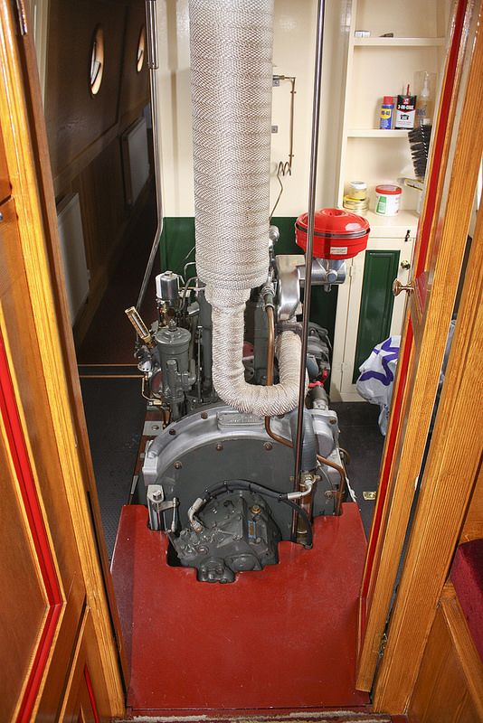 Army Tug Engine Room: Home Appliances, Vacuums, Narrowboat