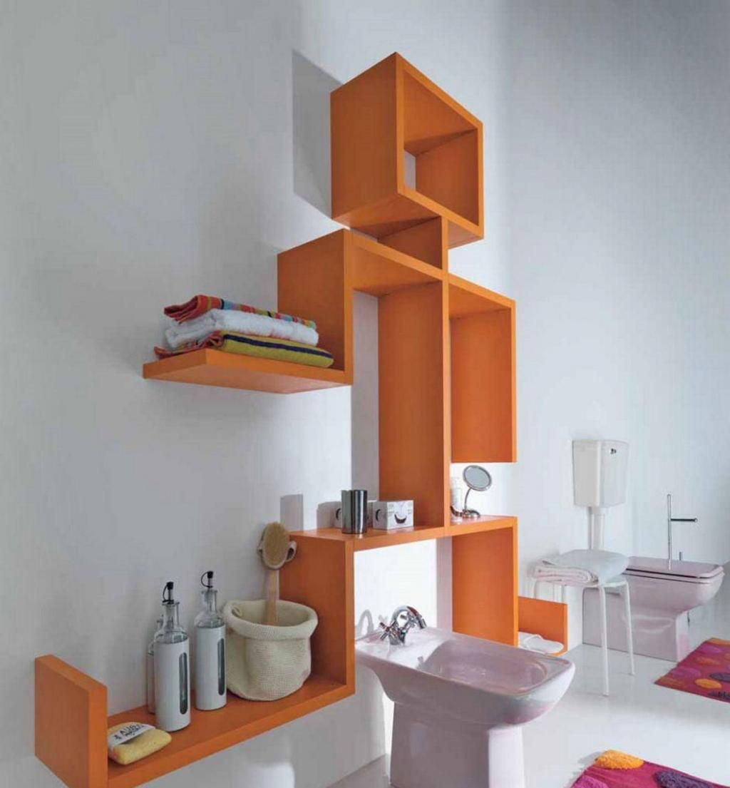 Modular Wall Shelving lago linea modular wall shelving for bathroom decorating with