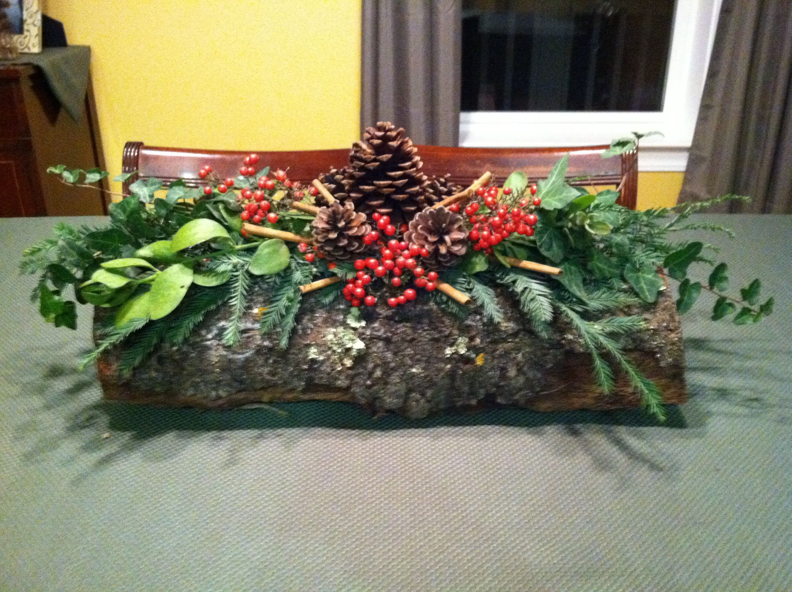 The Yule Log: Norse fathers and sons would bring in the biggest log ...