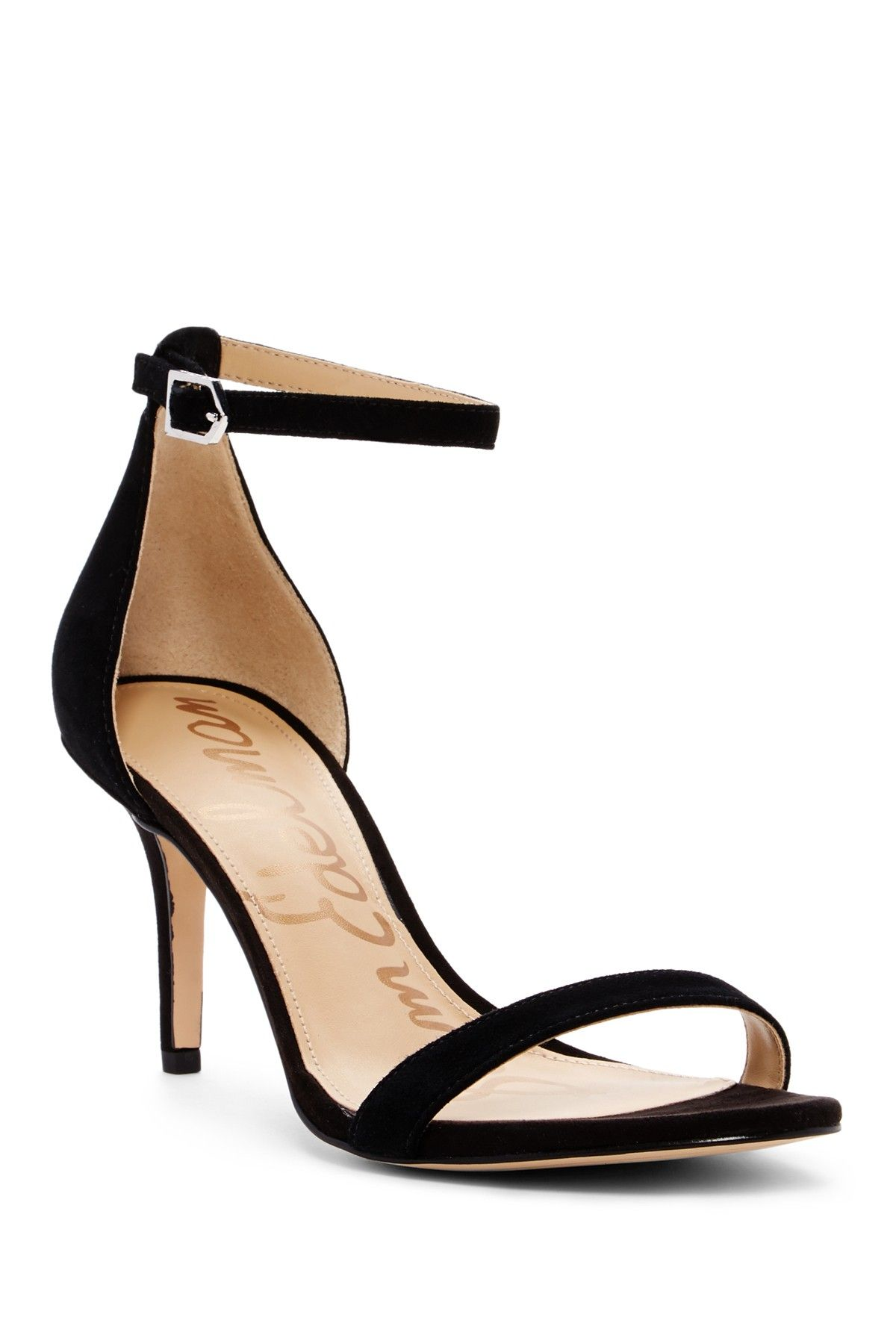 e97659eef4e Patti Suede Ankle Strap Sandal - Wide Width Available