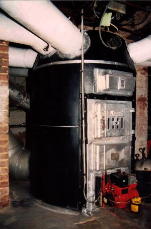 Heating With An Old Octopus Furnace Victorian Homes Furnace