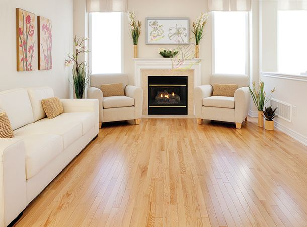 Red Oak Estate Natural Hardwood Hardwoodflooring Redoak Oak Floor Living Room Red Oak Hardwood Floors Red Oak Floors