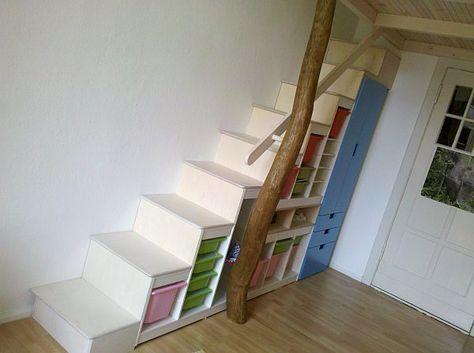pin von jana span l auf treppe pinterest hochbett bett und kinderzimmer. Black Bedroom Furniture Sets. Home Design Ideas