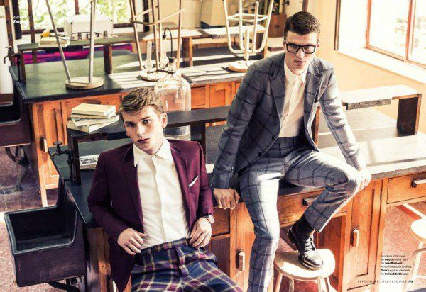 Arran Sly & Jon Dartnell Appear in the September Issue of Spanish Esquire image esq es01 600x412