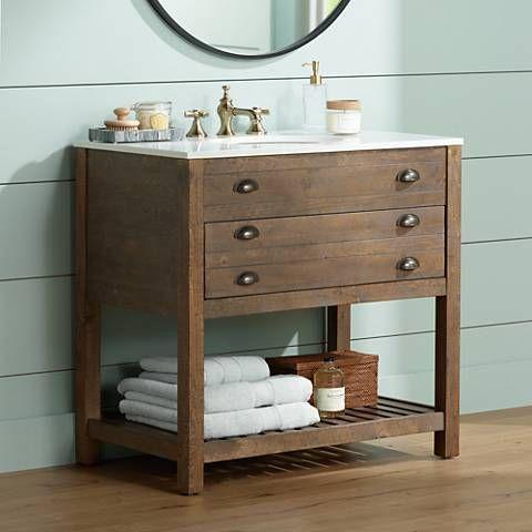 Crosett Cayhill 36 Wide Cultured Marble Sink Vanity 1d651 Lamps Plus Vanity Sink Single Sink Vanity Bathroom Vanity