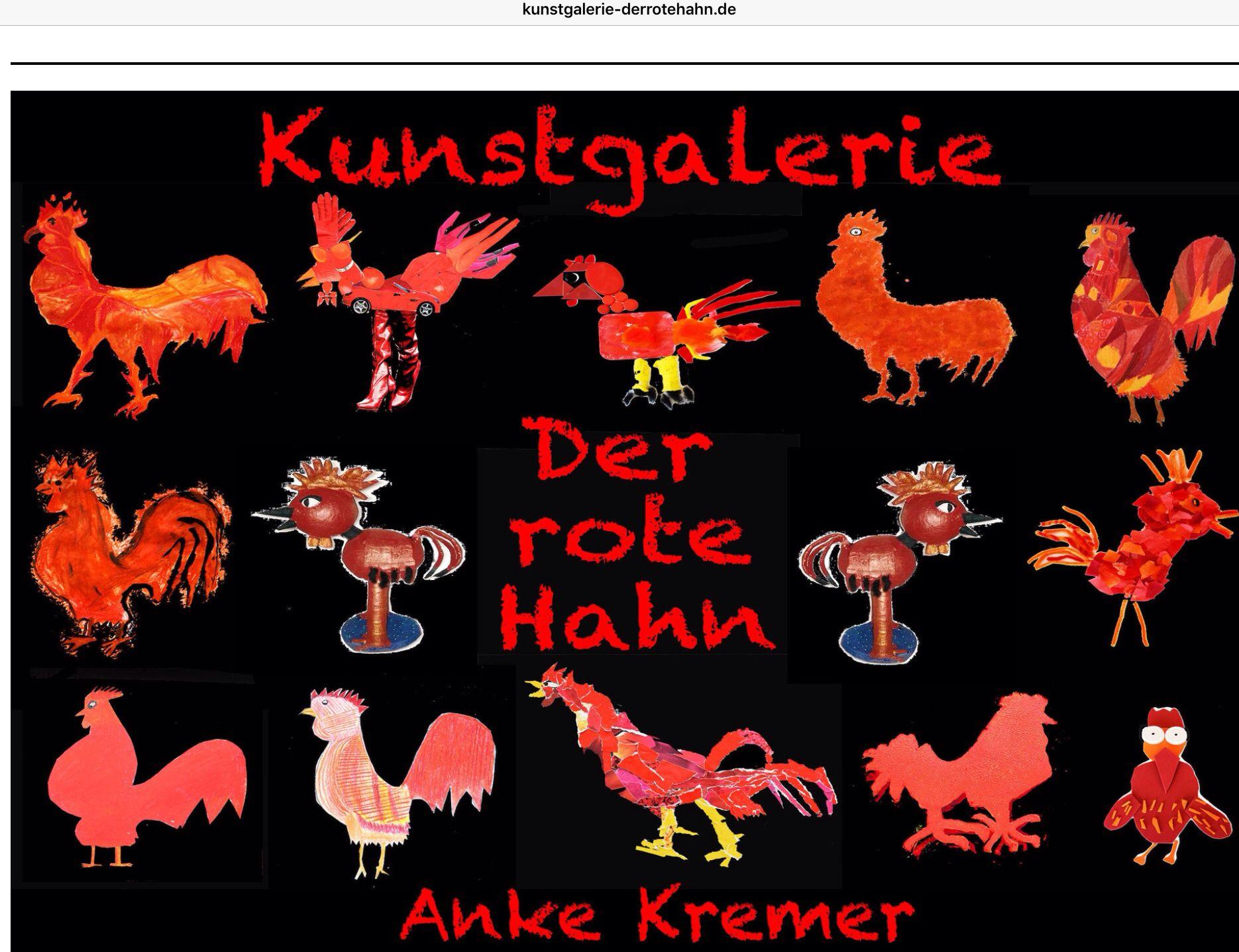 der rote hahn kunstgalerie startseite stechlin grundschule berlin kunst mit kindern. Black Bedroom Furniture Sets. Home Design Ideas
